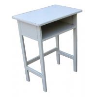 定做优质钢木课桌椅/单人课桌椅批发