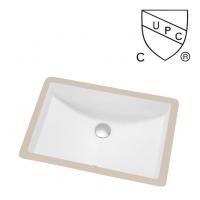北美UPC陶瓷台下盆/洗手盆SN017