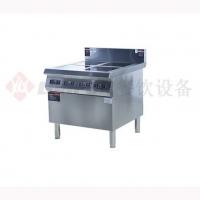 火头军厨房设备-商用电磁灶柜系列-西式电磁四头煲仔炉