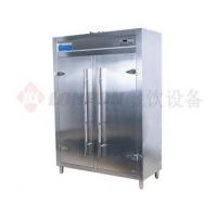 商用厨房设备-消毒碗柜系列-豪华热风循环双门商用消毒柜
