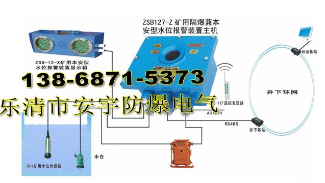煤矿水泵房水位自动控制报警装置 ZSB127型号高低水位报警