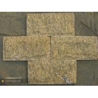 虎皮黄文化石。虎皮黄蘑菇石,虎皮黄乱型板,黄色板岩