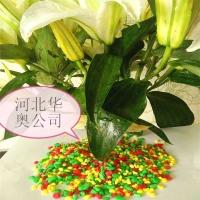 鱼缸 花卉点缀盆景装饰用五彩石 河北华奥