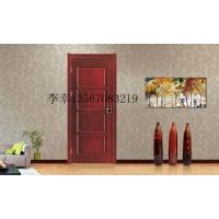 大量供应低价优质实木复合烤漆门环保油漆门