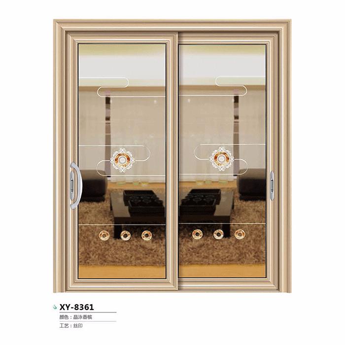 心仪门窗-尊品推拉/吊趟门系列 XY-8361