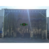 供应pvc防风防蚊门帘透明空调门帘软门帘塑料