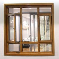 欧迪克门窗-木铝平开窗