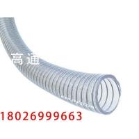 透明聚氨酯钢丝软管(高压PU输油软管)