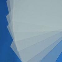 PVC透明磨砂片,奥凯PVC透明磨砂片