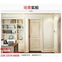 广东高档室内复合烤漆门 贴木皮实木复合门 佛山木门