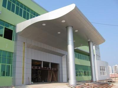 湖北铝单板,十堰吉祥铝幕墙生产销售、安装