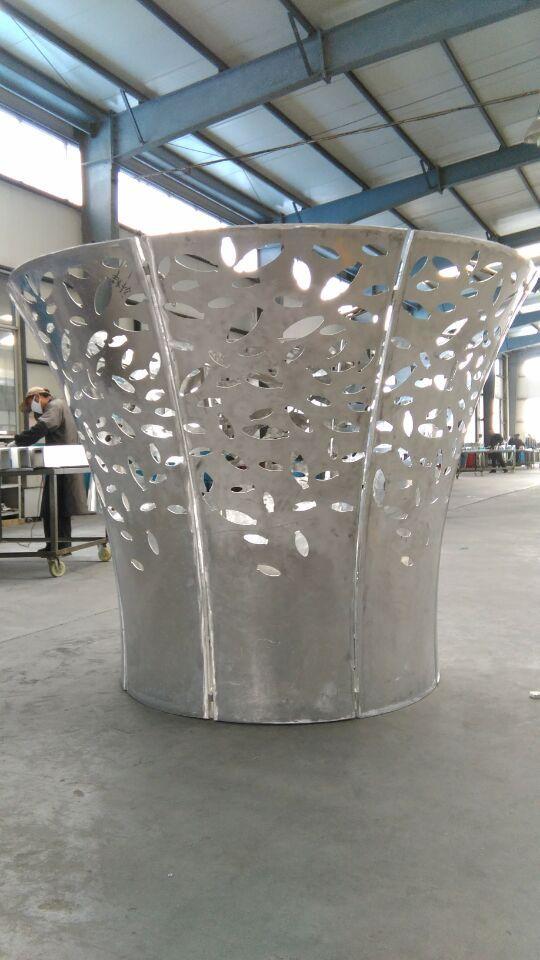 绿色环保铝单板,定做安装吉祥雕花铝幕墙