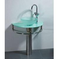 吉美卫浴-浴室柜-玻璃盆