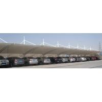 滁州芜湖马鞍山膜结构车棚 汽车停车棚