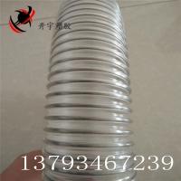 pu聚醚材质不锈钢丝动车专用排污管,TPU钢丝伸缩软管