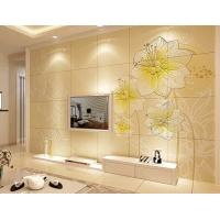 百士豪 电视背景墙砖 客厅现代艺术雕刻墙画 雅阁