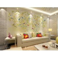 百士豪瓷砖背景墙 客厅电视瓷砖背景墙 爱情鸟