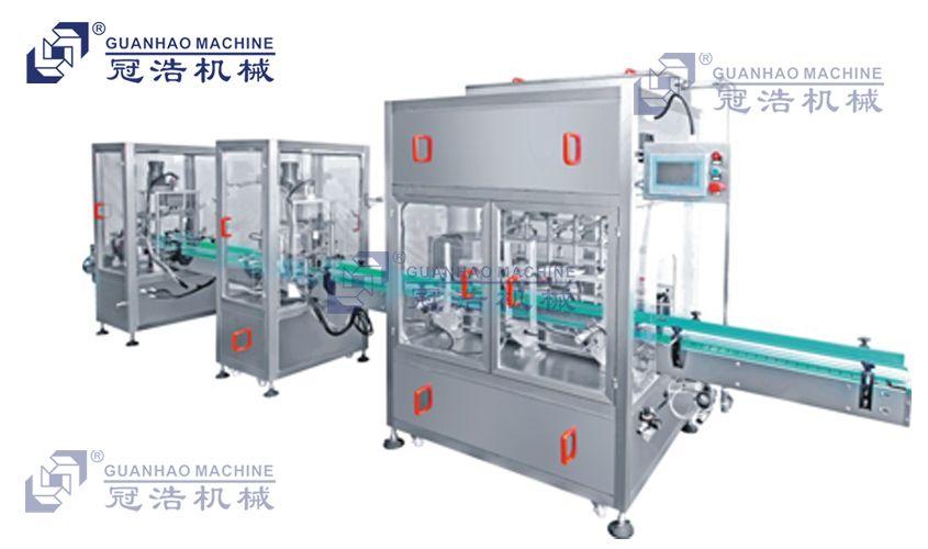 液体灌装机生产线_冠浩机械
