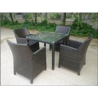 花园家具,户外桌椅,藤编家具