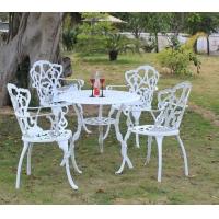 供铸铝桌椅,户外桌椅,公园椅,户外金属家具