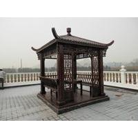 供锦州实木桌椅景观凉亭