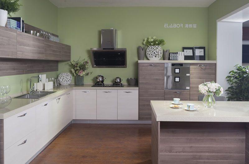 现代简约整体厨房-清雅屋