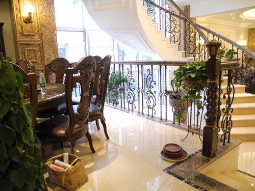 上海威得利楼梯欧美风格