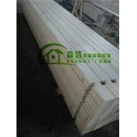 森佰木屋材料重型木屋结构胶合木墙体料加工