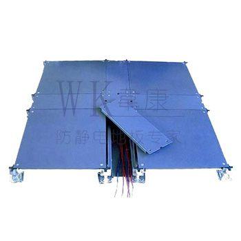 随州防静电地板 带线槽网络地板