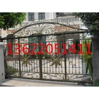 天津铁艺围栏,铁艺防护栏,铁艺大门专业制作