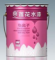 莲花水漆负离子健康水性墙面漆