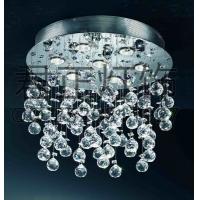 定制创意现代简约卧室客厅房间圆球水晶灯个性餐吊灯