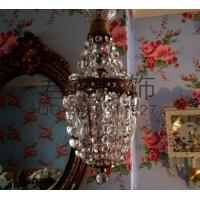 定制现代简约灯创意圆球水晶吊灯 客厅灯别墅吊灯
