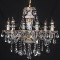 定制现代简约欧式白玉玻璃蜡烛灯客厅卧室灯饰