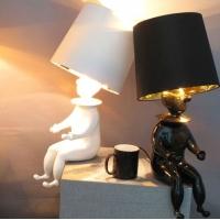 卡迪森现代家居灯饰创意卧室床头灯小丑台灯展厅个性灯具
