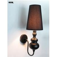 卡迪森欧式现代客厅过道灯 卧室床头LED壁灯具 古镇灯饰