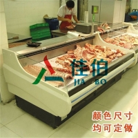 超市专用鲜肉柜 肉类食品保鲜展示柜 猪肉牛肉羊肉冷藏保鲜柜