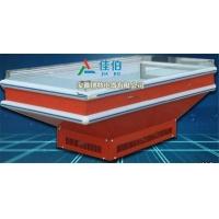 上海超市冰台展示柜 海鲜冰台冷藏展示柜 商用卧式冰台