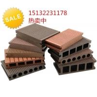 河北生态木 北京天津塑木地板 塑木栈道 塑木园林椅