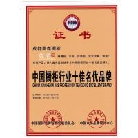 中国橱柜行业十佳名优产品