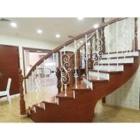 南京钢木楼梯-高升楼梯