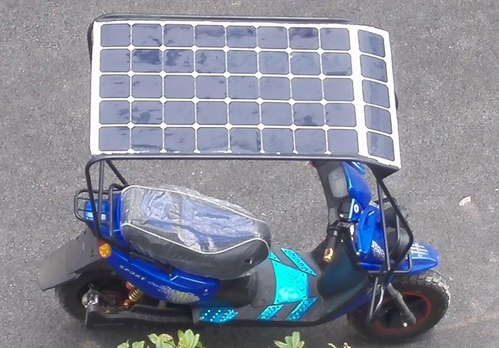 太阳能电动车