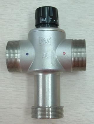 3, 如果冷,热水进水压力不一致,必须安装单向止流阀.图片