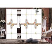 金汇通建筑装饰专业订做各种超白5D砂雕晶彩喷绘衣柜移门玻璃