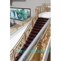 铝板雕刻镂空别墅阳台楼梯护栏