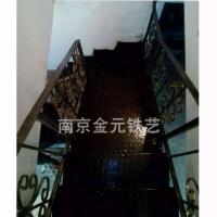 南京钢结构楼梯-金元铁艺