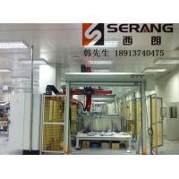 机器人工作防护高速门 焊接机器人自动卷帘门