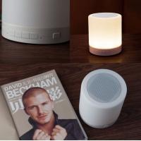 来电触摸LED蓝牙音箱 免提通话 氛围灯光