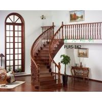 供应弧形微旋梯 实木楼梯  扶手及配件