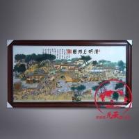 供应瓷板画,景德镇瓷板画,清明上河图瓷板画